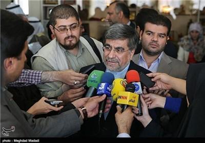 جنتی وزیر فرهنگ و ارشاد اسلامی ایران