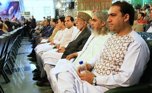 گروه موسیقی افغانستان در آیین اختتامیه