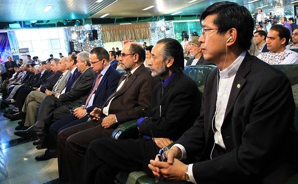 مهمانان افغانستانی در آیین اختتامیه